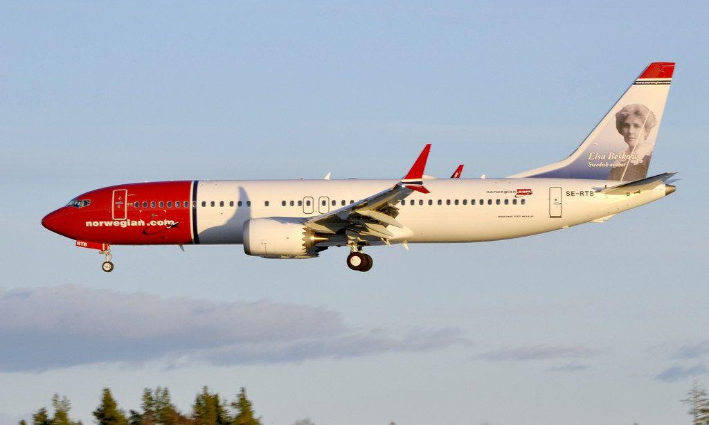 Norwegian SE-RTB, OSL ENGM Gardermoen
